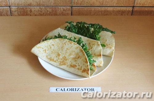 Буррито с фасолью и тофу