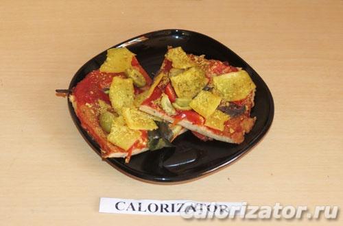 Тофу-пицца