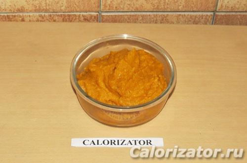 Тыквенно-чечевичный соус