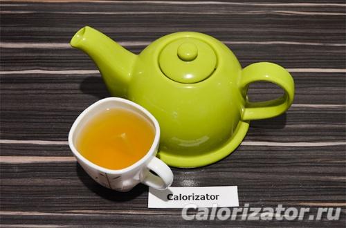 Грушевый чайный напиток