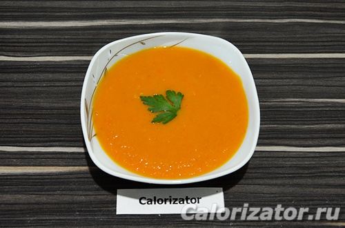 Овощной суп-пюре с томатами