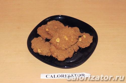Арахисовое печенье с протеином