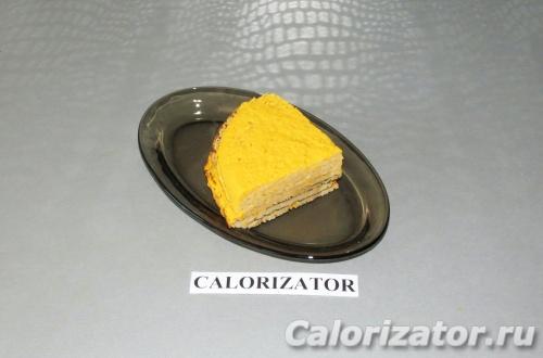 Блинный торт с тыквой