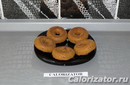 Овсяно-тыквенные пончики
