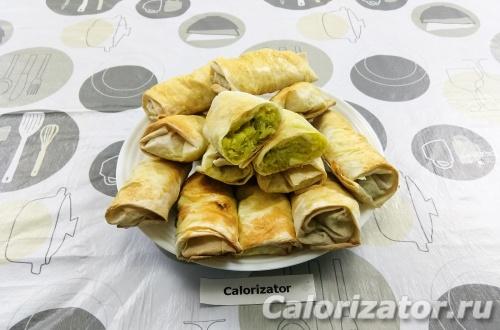 Ленивые пирожки из лаваша с капустой и яйцом