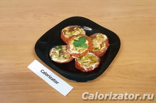 Яичница в помидорах ПП