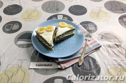 Простой торт в микроволновке