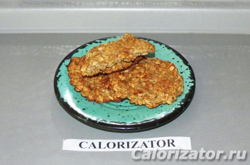 Овсяно-грушевое печенье