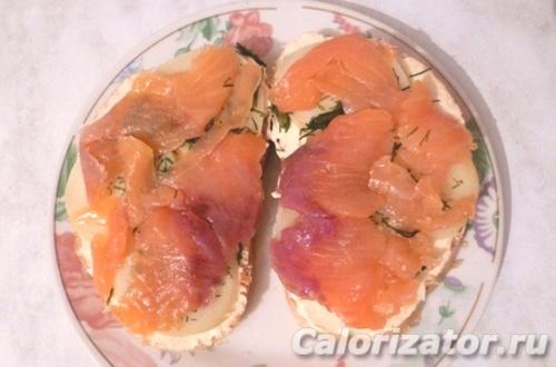 Бутерброд Рыбный
