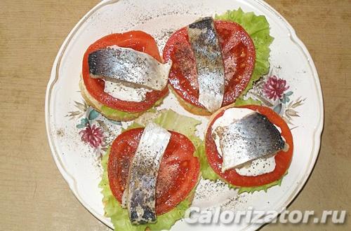Бутерброд по-скандинавски
