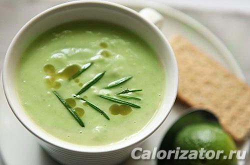 Суп из авокадо