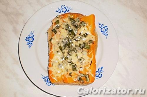Бутерброд с морковью