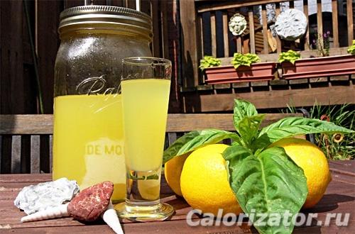 Лимонный ликер по-итальянски