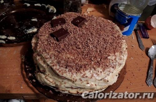 Блинный тортик в аэрогриле