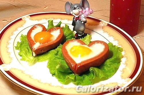 Завтрак от настоящего мужчины
