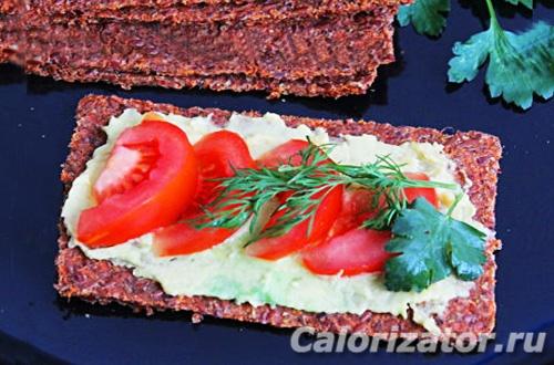 Морковные хлебцы из жмыха
