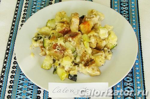 Касэрол вегетарианский