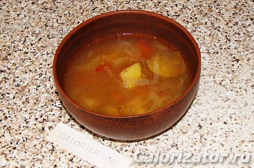 Легкий суп с клецками
