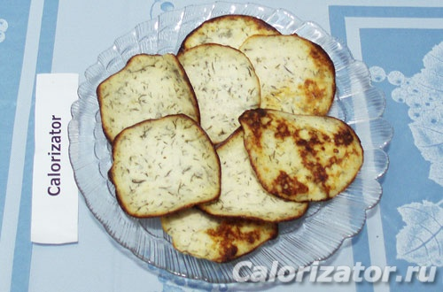 Творожные чипсы