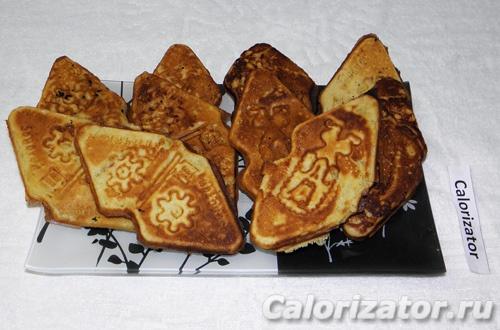 Хрустящее печенье в форме