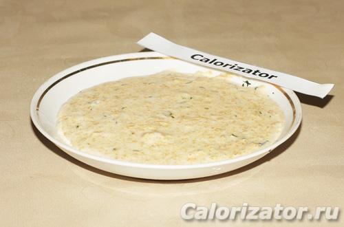 Сырно-грибной соус