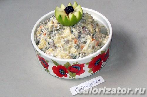 Оливье Vegetarian Style