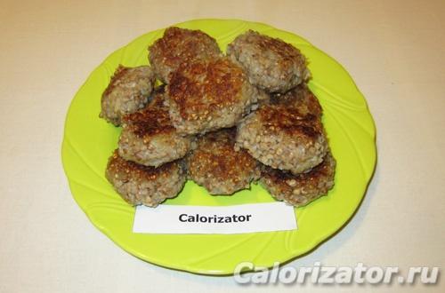 Гречневые котлеты - как приготовить, рецепт с фото по шагам, калорийность.