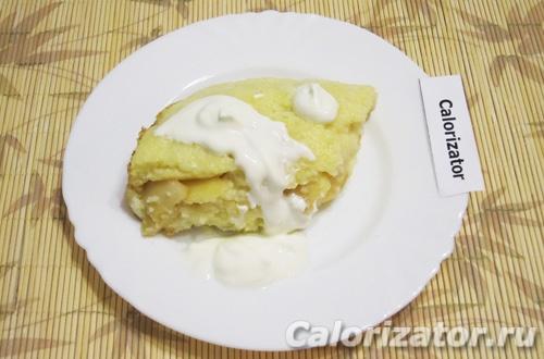 Запеканка с яблоками - как приготовить, рецепт с фото по шагам, калорийность.
