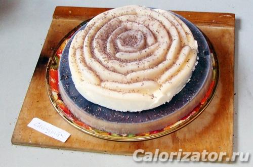 Торт-мороженоe Роза
