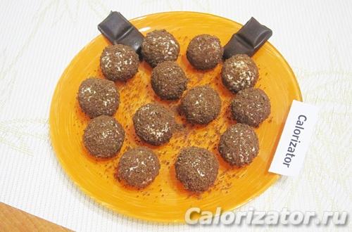 Творожно-кокосовые шарики