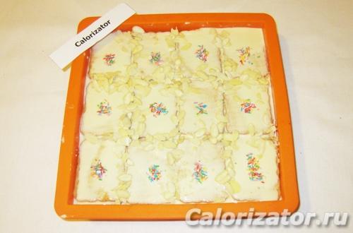 Лимонный торт без выпечки