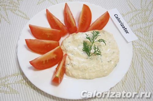 Соус со сметаной и кетчупом