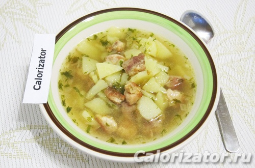 Быстрый картофельный суп