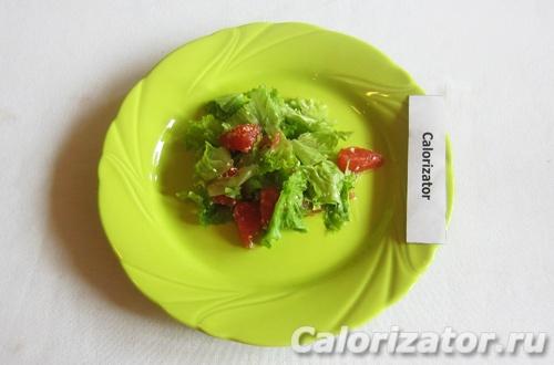 Салат с грейпфрутом и кунжутом
