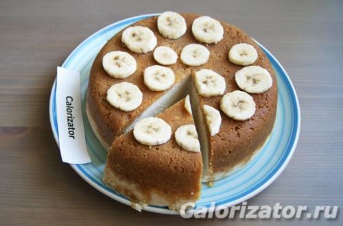 Чизкейк банановый в мультиварке