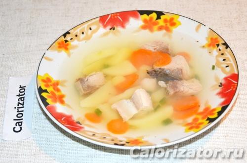 Суп рыбный легкий
