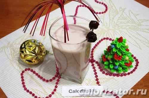 Медовый молочный коктейль