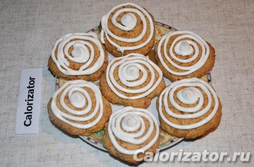 Печенье новогоднее с апельсиновой цедрой