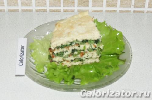 Куриный торт с овощным кремом