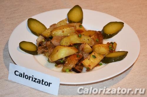 Картофель со специями в духовке