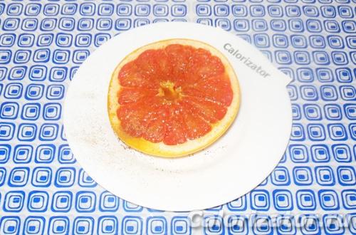 Грейпфрут с медом и имбирем