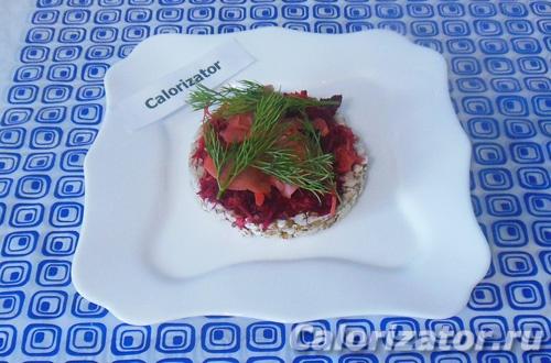 Овощной бутерброд с имбирем
