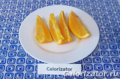 Апельсин с медом и имбирем