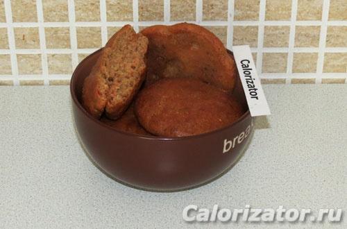Арахисовое печенье с казеином