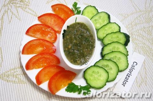 Заправка для овощей