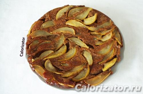 Грушево-кофейный пирог