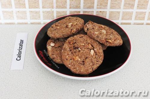 Печенье с какао-крупкой