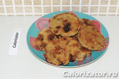Нутовые печенья