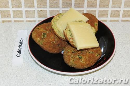 Булочки из кабачка с сыром