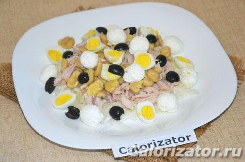 Салат белковый (с кроликом)